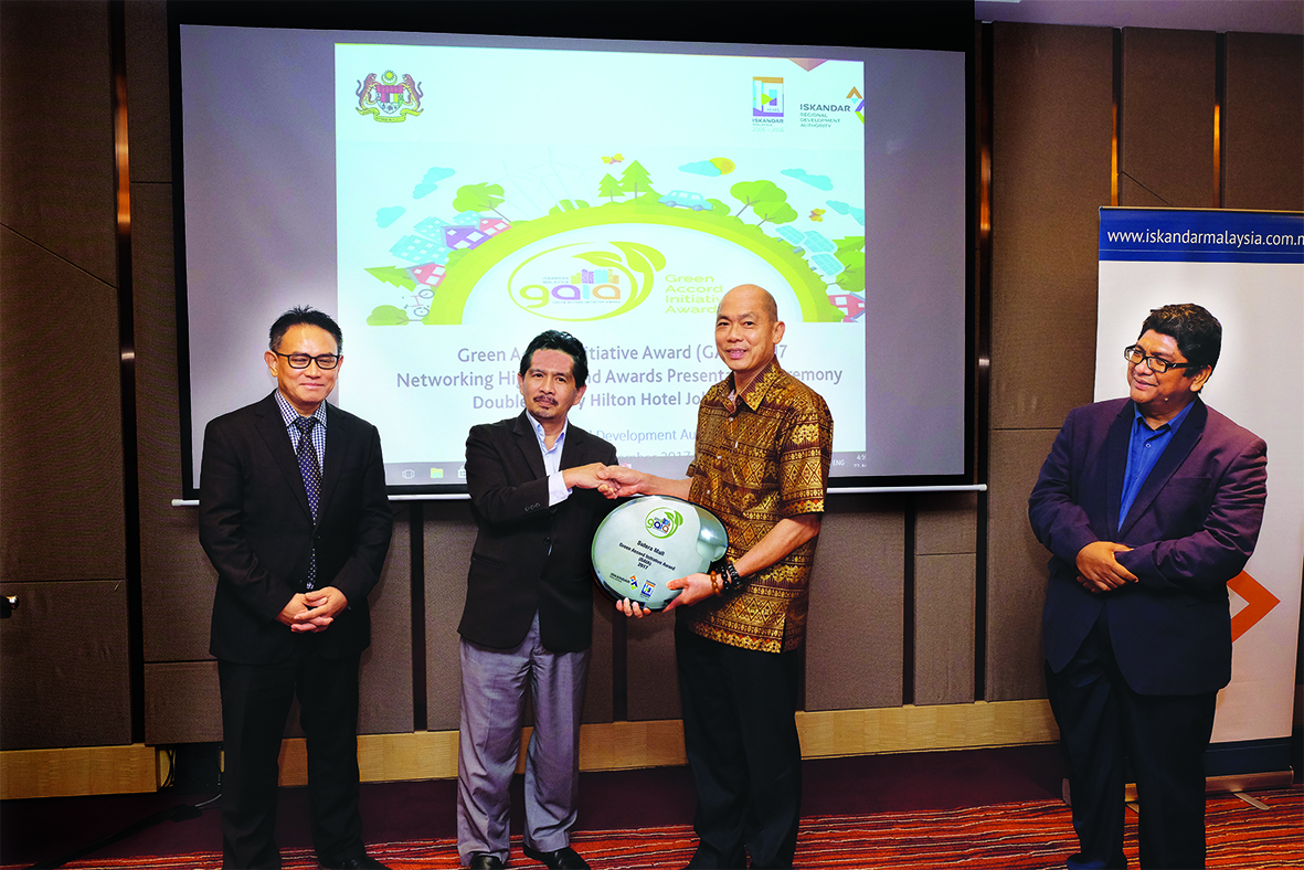 Sutera Mall won GAIA award 2017