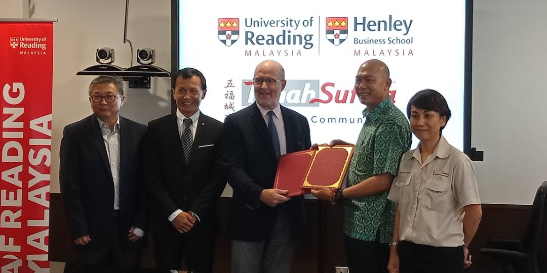 MOU of Tanah Sutera and University of Reading Malaysia