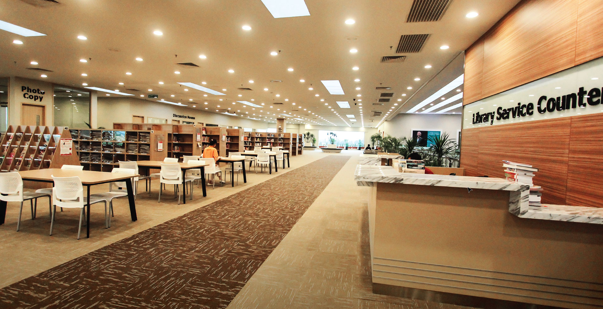 MY LIBRARY  | SUTERA MALL