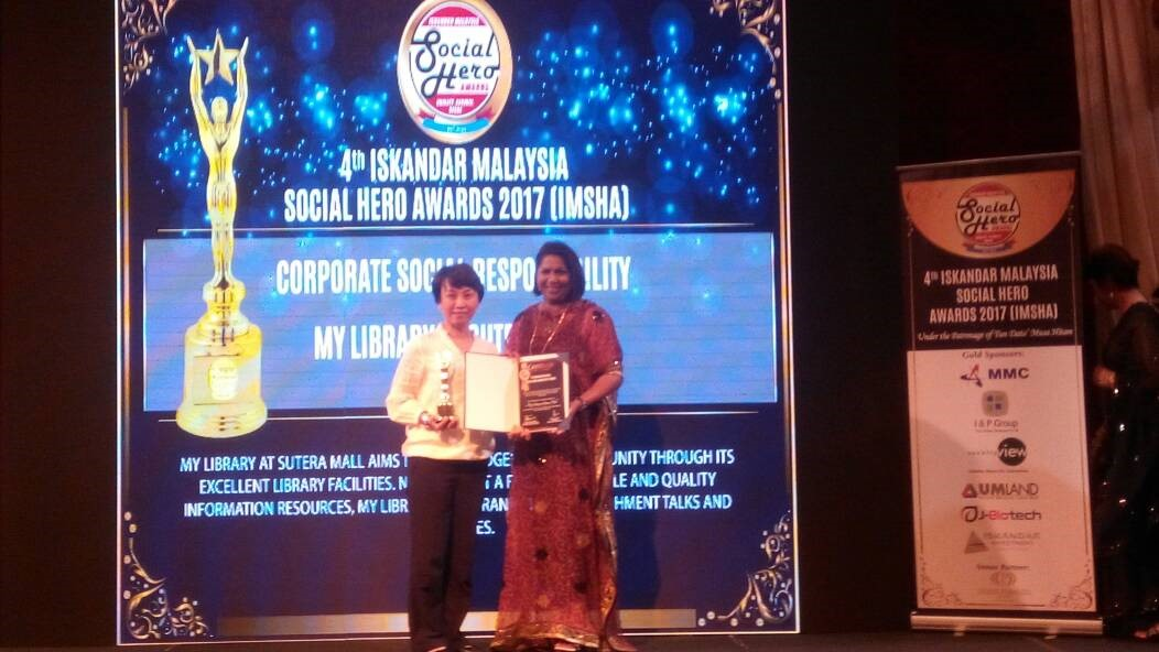 My Library received Corporate Social Responsibility (CSR) Award